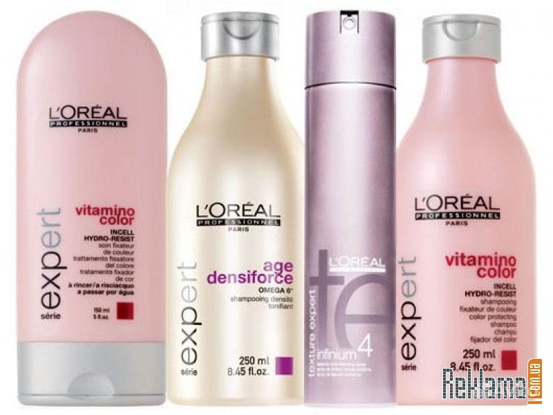 Профессиональная косметика для волос Loreal (Лореаль), Kerastase, Goldwell