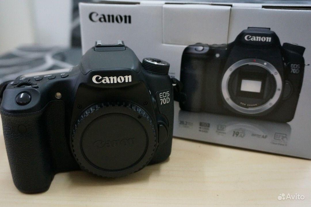 Canon 70 d Body.  Москва