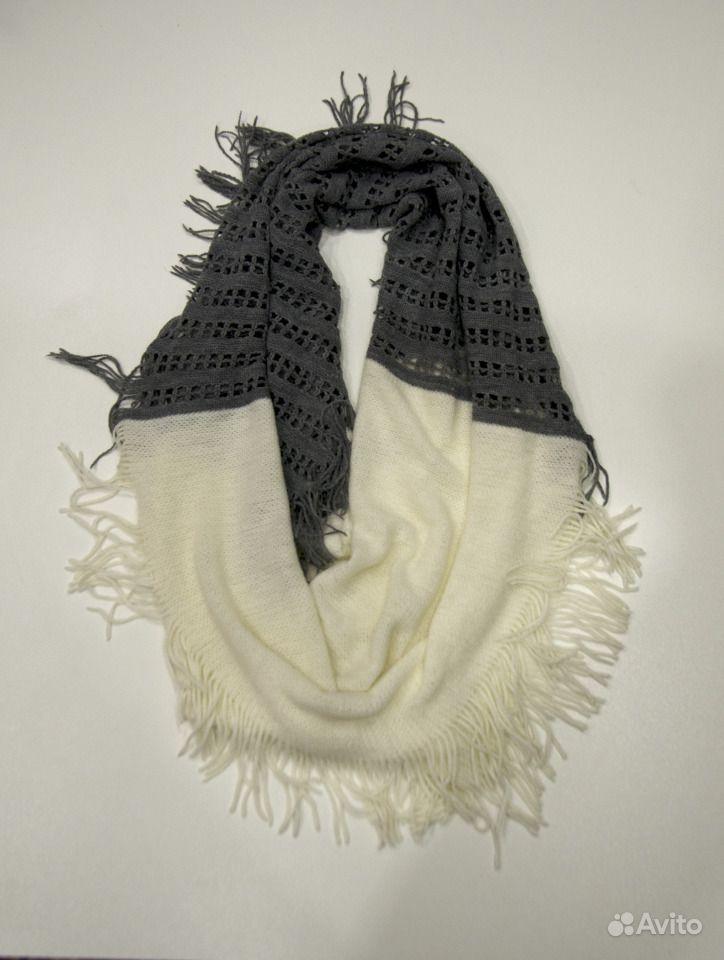 Вязанный шарф. Владимирская область,  Владимир