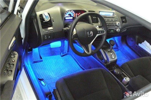 Подсветки для ног в автомобиле своими руками