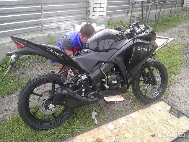Мотоцикл ABM X moto GX 250 (Honda CBR 250 R ) 17лс купить в ...