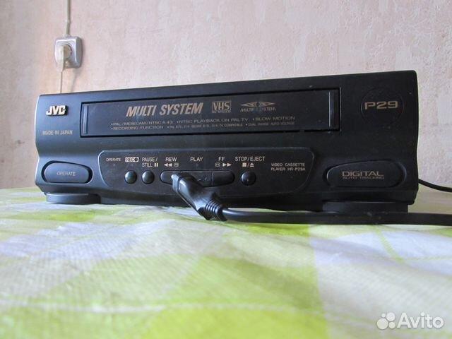 VHS видеомагнитофон JVC HR-