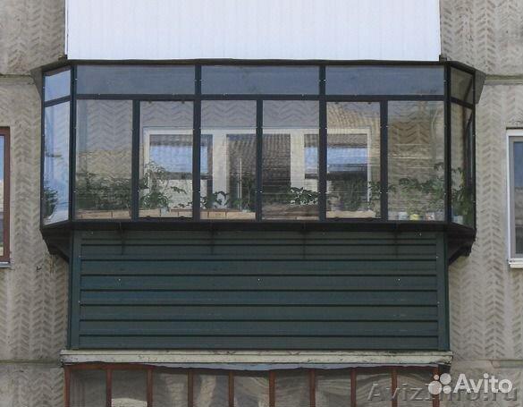 Расширение пространства на балконе купить в тюменской обл....