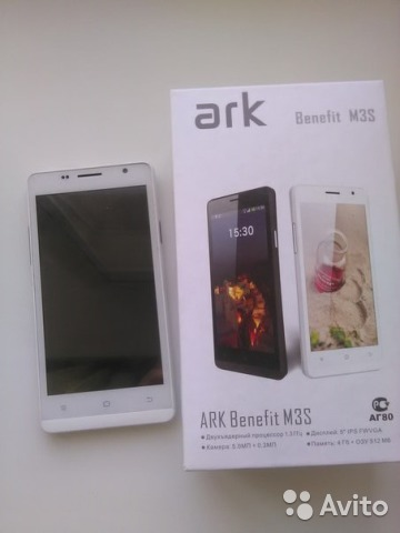Ark Benefit S501 прошивка скачать - фото 8