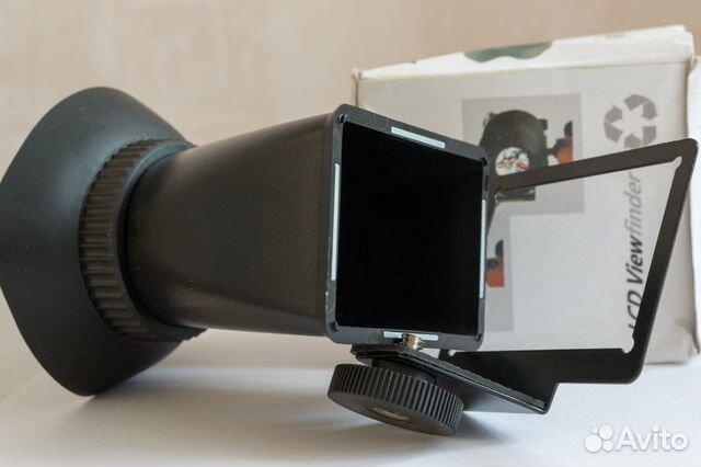Визир-насадка на экран фотоаппарата 89620344503 купить 1