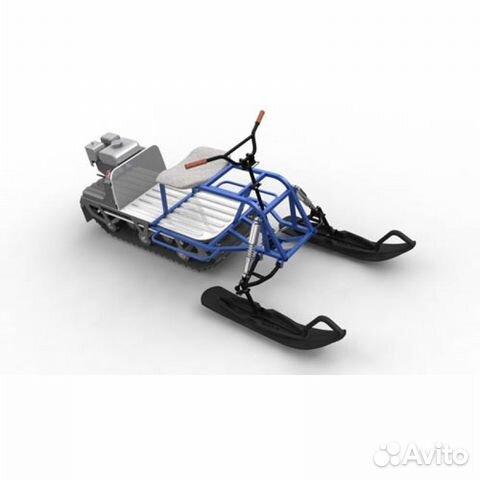 Сделать лыжный модуль для мотобуксировщика своими руками