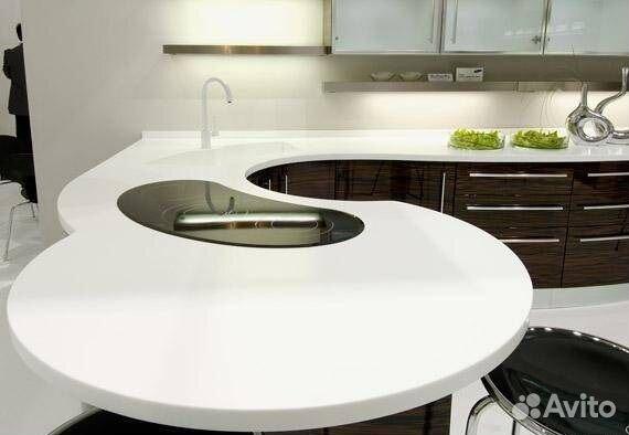 Столешницы из искусственного камня, Кухни на заказ 89277345806 купить 1
