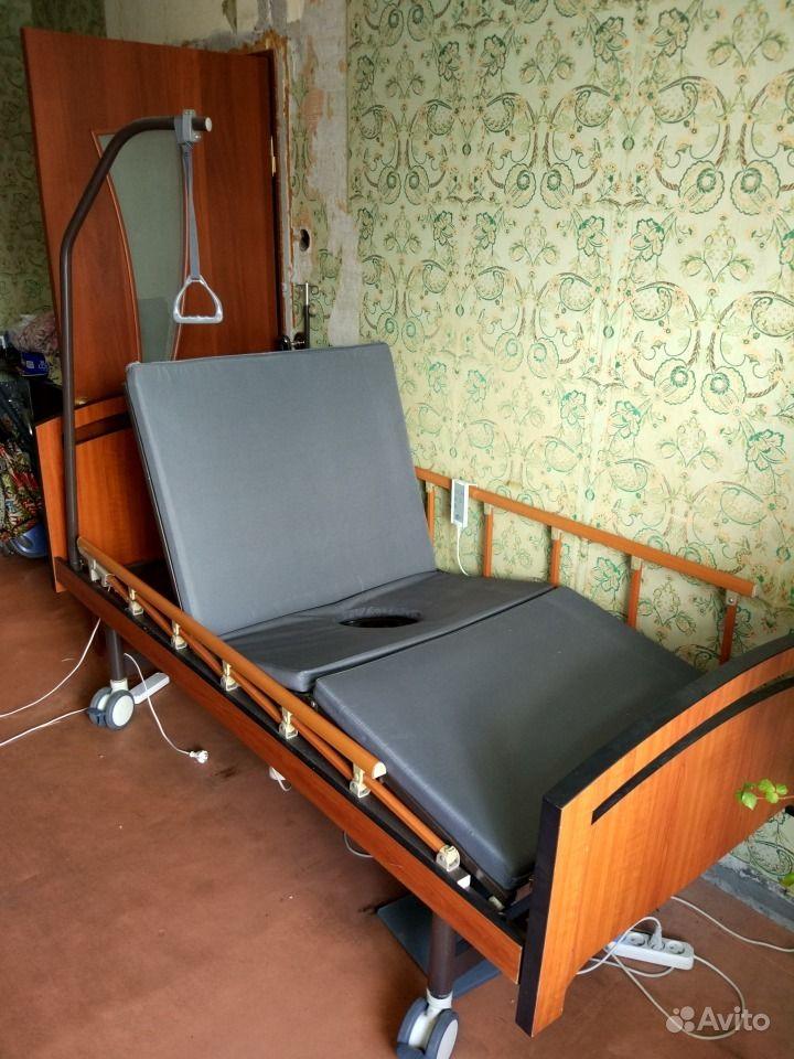 Функциональная кровать для лежачих больных  б/у