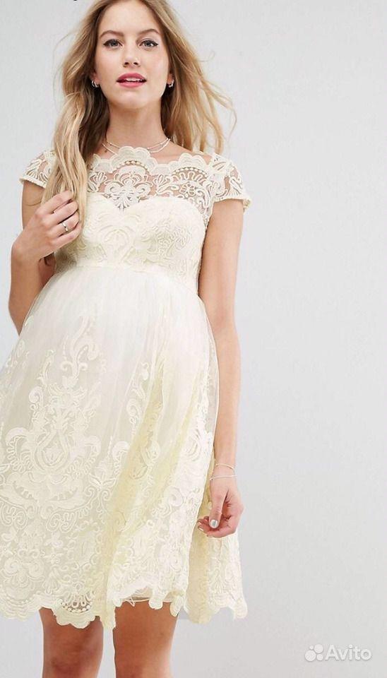 ee4b01ed337 Свадебное   вечернее платье для беременных