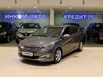 Hyundai Solaris 1.4AT, 2015, 124000км