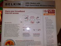 Роутер Belkin adsl modem with high speed mode wire