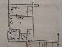 2-к квартира, 43 м², 1/4 эт. — Квартиры в Улан-Удэ