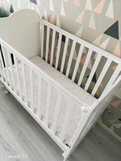 Кровать Micuna с матрасом 120 х 60 объявление продам