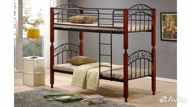 Двухъярусная кровать ат 9126 тр н