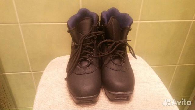 9bcf11bdcc2e Лыжные ботинки Alpina б у (для NNN крепления), р38— фотография №