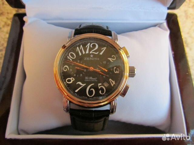 Часы Zenith El Primero - chrono24comru