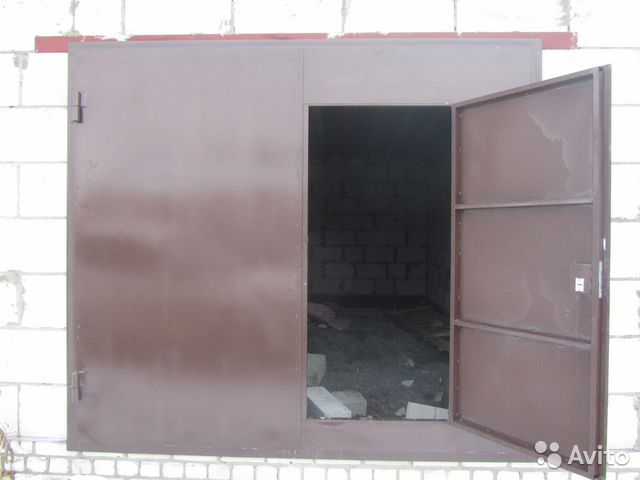 стальные гаражные двери производство в г шатура