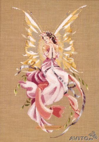 Вышивка королева фей