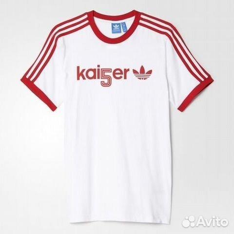 d9edf9a5 Футболка Adidas Originals Kai5er Trefoil AB7476 купить в Приморском ...