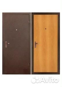 дверь стальная эконом класса строительная
