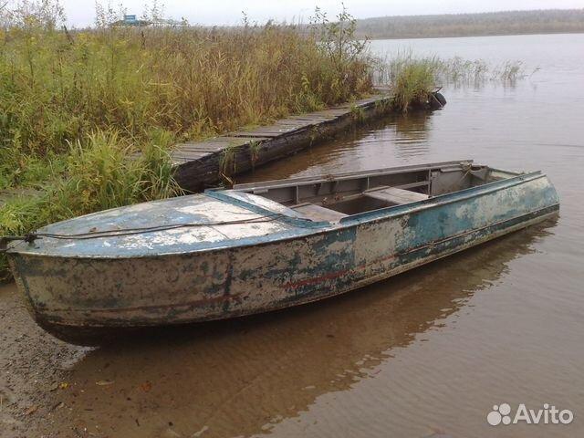 продам лодку алюминиевую бу казанка