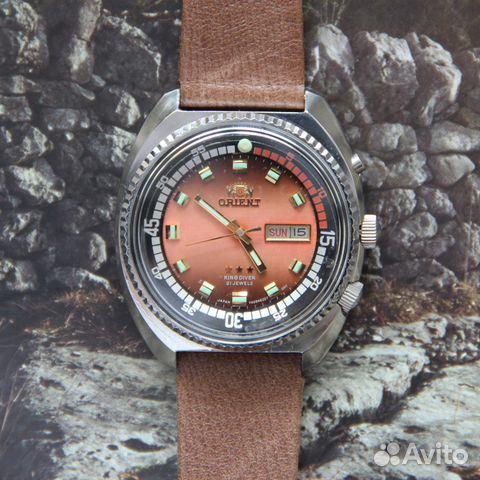 405f682d Orient автоподзавод два календаря KD King Diver купить в Москве на ...