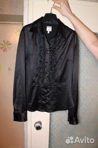 ed00df453aaef07 Рубашка женская атласная | Festima.Ru - Мониторинг объявлений