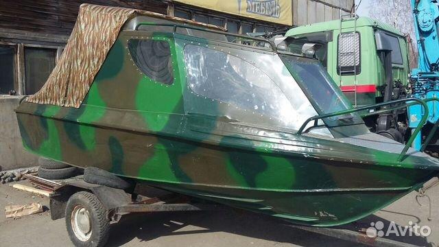 продажа моторных лодок на авито крым