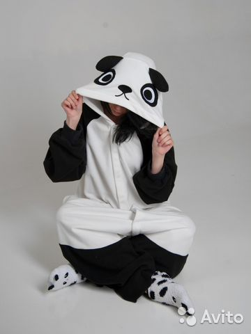 Пижама кигуруми Панда от российского производителя  6381443d1854d