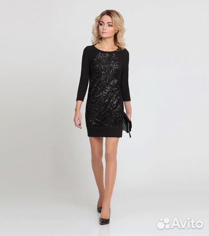 d16e6f48b55 Новое элегантное маленькое черное платье р.46-48
