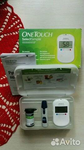 Глюкометр one touch select батарейка