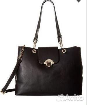 fbb1ed251252 Черная сумка Tommy Hilfiger | Festima.Ru - Мониторинг объявлений
