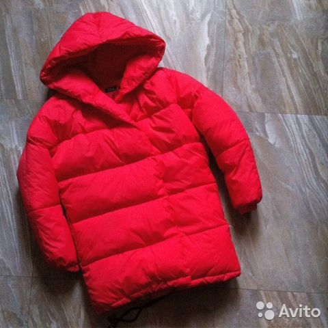 c5d13eec Красная куртка зефирка пуховик одеяло пухлая | Festima.Ru ...