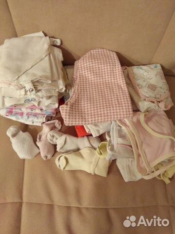 Пакет детской одежды для девочки 56 размера купить в Москве на Avito ... 5ddc73d7c1024