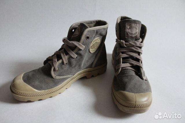 Мужские высокие кеды ботинки Palladium  24d52c1752782