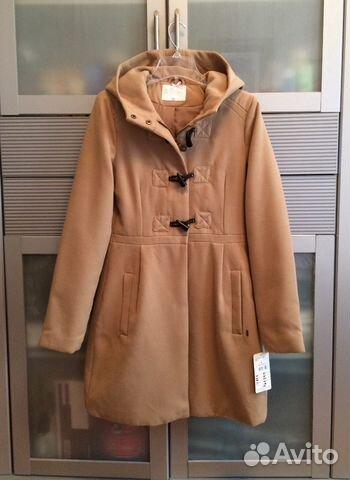 8f6a960d231 Светло-коричневое   бежевое теплое пальто Chillin