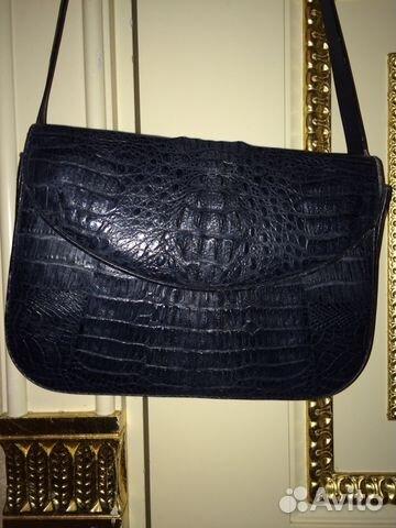 b4107c617e23 Крокодиловая сумка клатч черная крокодил | Festima.Ru - Мониторинг ...