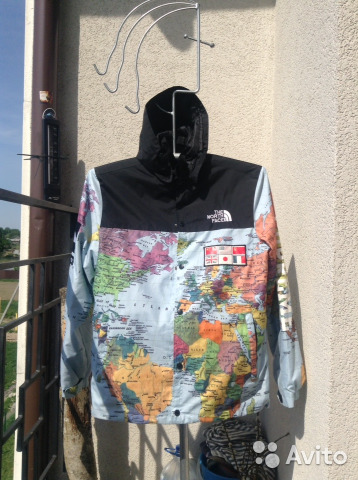 Supreme x the north face world map jacket supreme x the north face world map jacket 1 gumiabroncs Choice Image