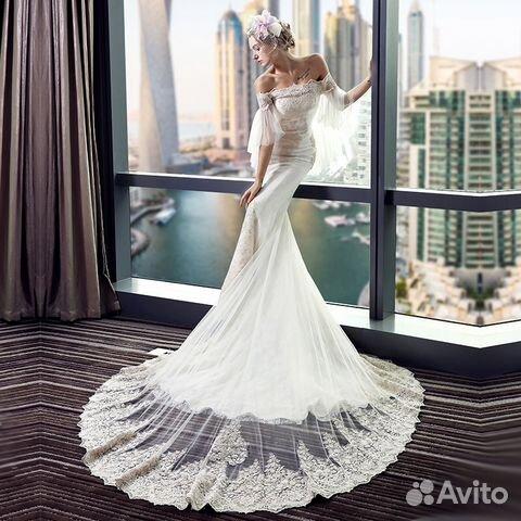 39582d3b2d9 Свадебное платье Рыбка (новое)