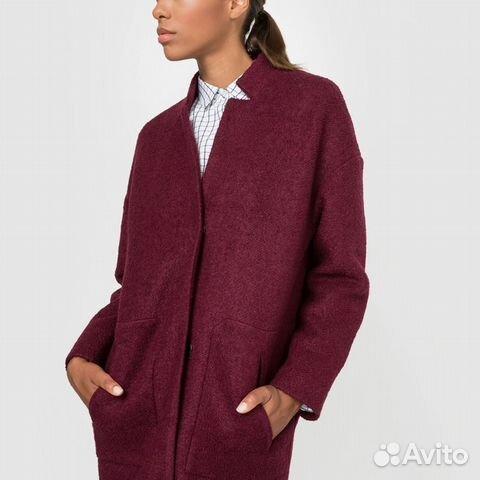 97afb7b8d94 Пальто покроя оверсайз La Redoute Colle 40 шерсти