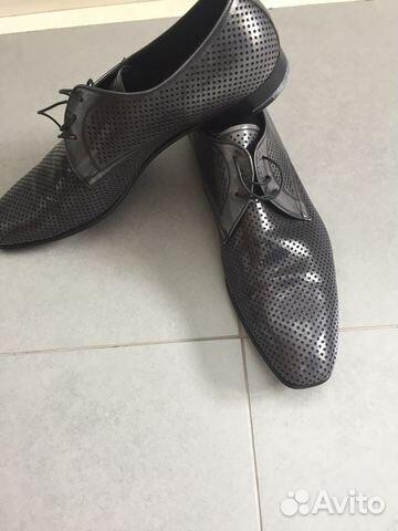 742786afe0ce Туфли Prada оригинал мужские ботинки купить в Москве на Avito ...