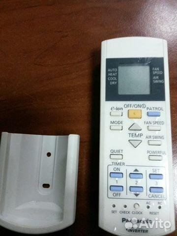 Пульт к кондиционеру panasonic cwa75c3006 установка кондиционеров и монтаж вентиляции