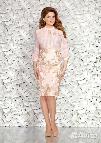 8b77c8747fb Новое нарядное платье из белорусского трикотажа купить в Брянской ...