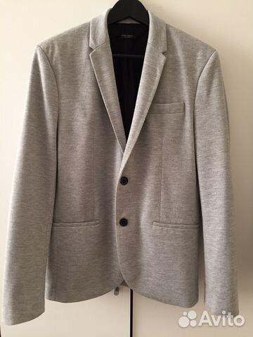 7983b143029 Базовый трикотажный пиджак блейзер Zara Новый