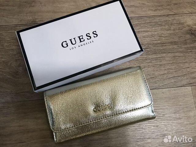 a7f571bdd026 Кошелек женский Guess оригинал в коробке