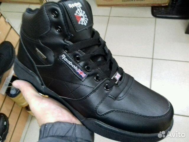 66520b041d07 Кроссовки Reebok черные зима купить в Омской области на Avito ...