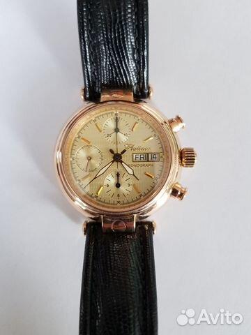 b1b279c0b5c0 Мужские золотые часы Платинор купить в Санкт-Петербурге на Avito ...