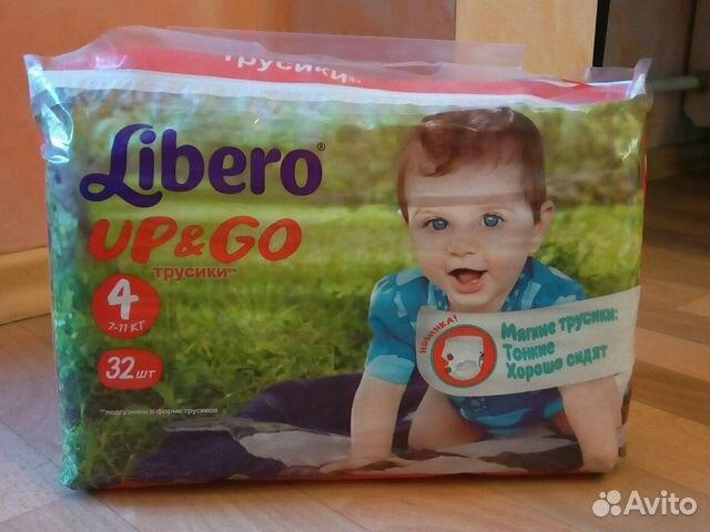 Подгузники трусики Libero Up Go 4 7-11 кг 32 шт   Festima.Ru ... feb98612e82