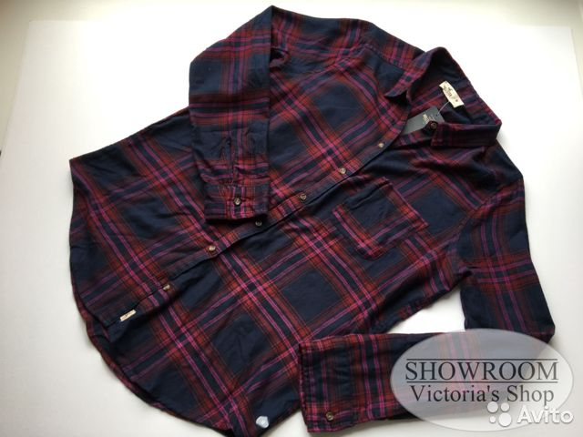 c8f71625056 Фланелевая рубашка Hollister купить в Санкт-Петербурге на Avito ...