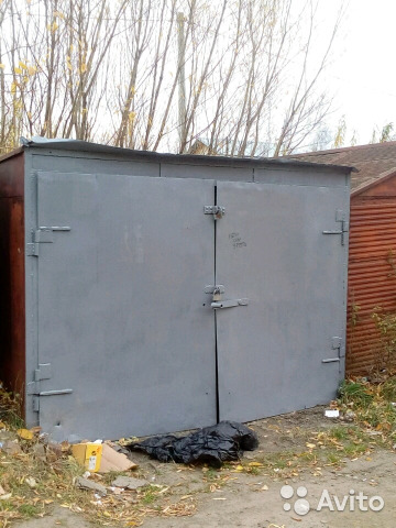 Авито металлические гаражи в томске гараж в орле заводской район купить